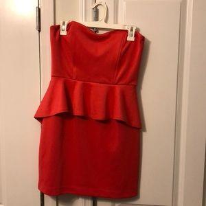 Dresses & Skirts - 1 piece skirt/ top strapless